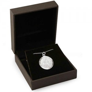 Sterling-Silver-Small-St-Christopher-Necklace