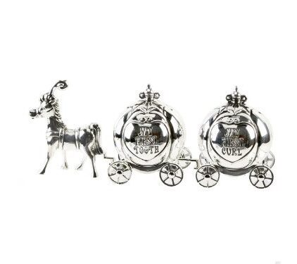 Silver-Plated-Cinderella-Carriage-My-First-Curl-My-First-Tooth-0
