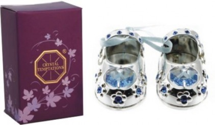 Christening-Baby-Boy-Gift-Silver-Plated-Baby-Shoes-with-Swarovski-Elements-0