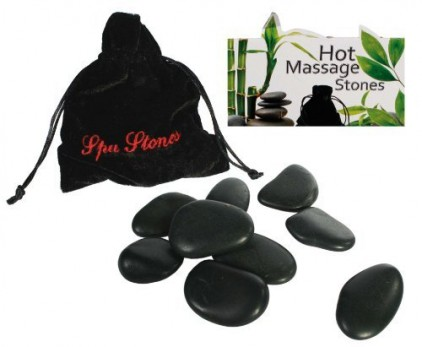 Luxury-Hot-Stones-Massage-Set-9-stones-Provided-Your-very-own-Spa-Treatment-at-Home-Womans-Perfect-Ideal-Christmas-Present-Gift-Stocking-Filler-Ideal-Gift-for-The-Gardener-0