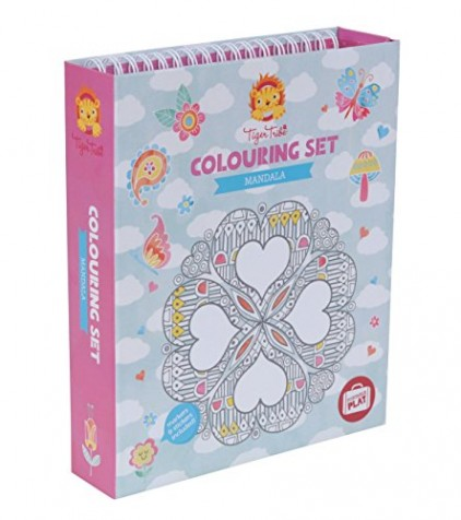 Mandala-Colouring-Set-for-Girls-Design-Colouring-Book-Activity-Set-for-Girls-Great-travel-activity-packs-for-kids-Activity-Book-Great-Gifts-for-Girls-6-years-old-0