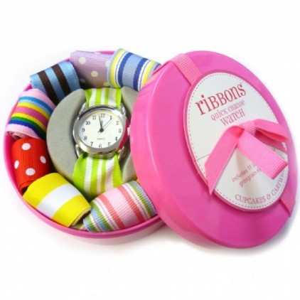 Ribbon-Watch-with-Interchangeable-Straps-Pink-0