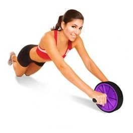 XQ-Max-Exercise-Wheel-Abs-Trainer-PurpleBlack-0