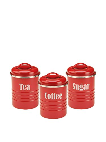 Typhoon-Vintage-Kit-Tea-Coffee-and-Sugar-Set-Red-0