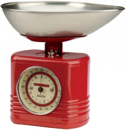 Typhoon-Vintage-Kitchen-Scales-Red-0